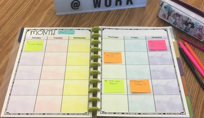 Finding the Perfect Teacher Planner