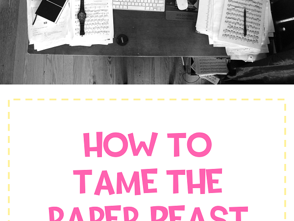 How-to Tame the Paper Beast