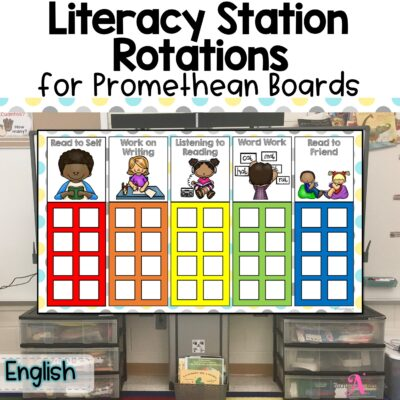 Literacy Station Rotations chart for Daily 5