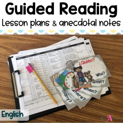 Guided Reading Lesson Plan in English