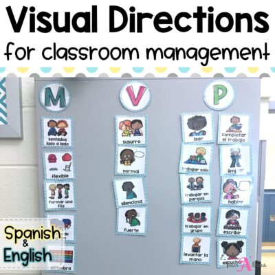 Visual Directions for classroom management