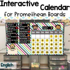 Cover interactive calendar (E)