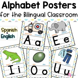 Cover Alphabet Posters