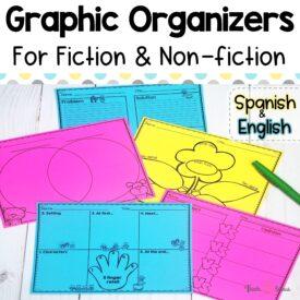 Cover Reading Graphic Organizer
