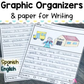 Cover Writing Organizers